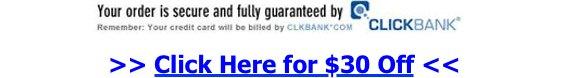 Guaranteed by Clickbank